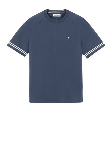 STONE ISLAND 60651 Sweatshirt Man Avio Blue EUR 189
