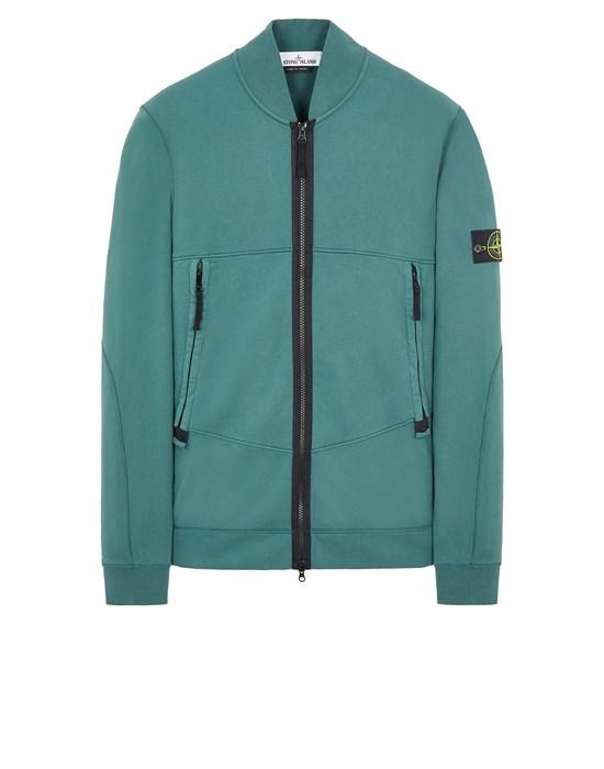 STONE ISLAND 60351 Sweatshirt Man Dark Teal Green