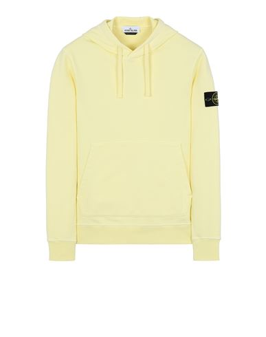 STONE ISLAND 64151 Sweatshirt Man Lemon USD 256