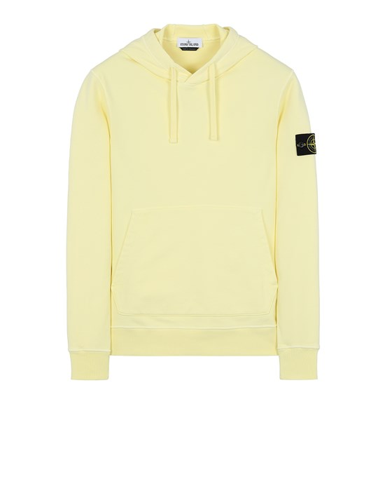 STONE ISLAND 64151 Sweatshirt Man Lemon