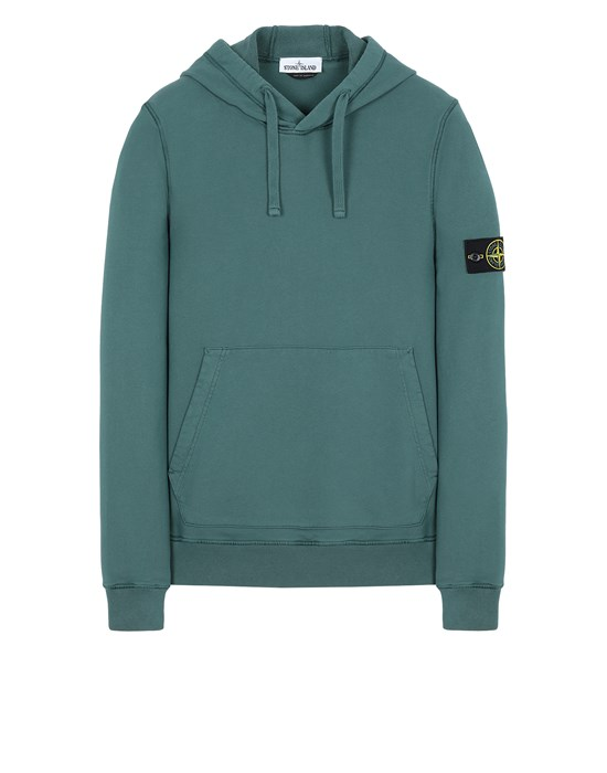 STONE ISLAND 64151 Sweatshirt Man Dark Teal Green
