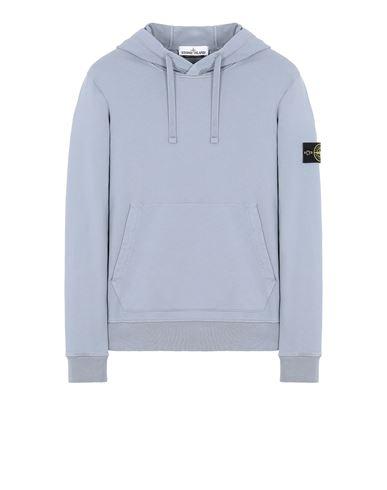 STONE ISLAND 64151 Sweatshirt Man Pastel Blue EUR 245
