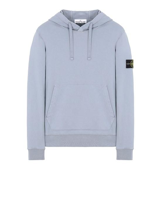 STONE ISLAND 64151 Sweatshirt Man Pastel Blue