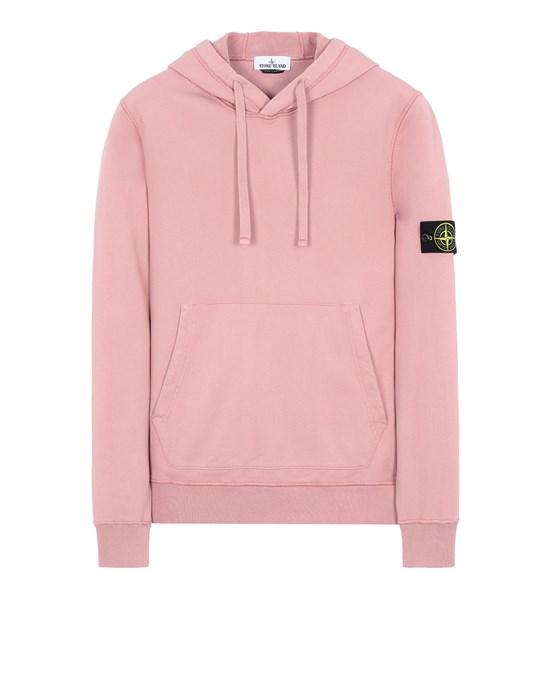 STONE ISLAND 64151 Sweatshirt Man Pink Quartz