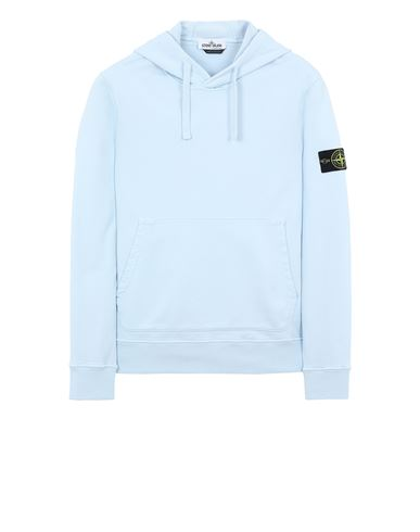 STONE ISLAND 64151 Sweatshirt Man Sky Blue USD 365