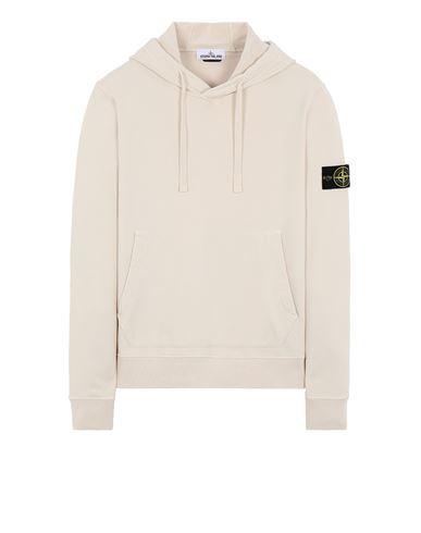 STONE ISLAND 64151 Sweatshirt Man Ivory USD 256