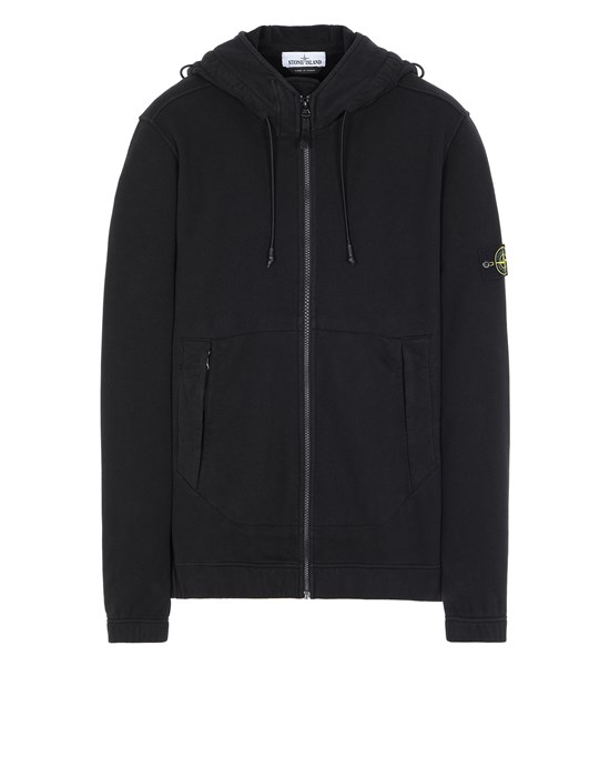 STONE ISLAND 61420 Sweatshirt Man Black