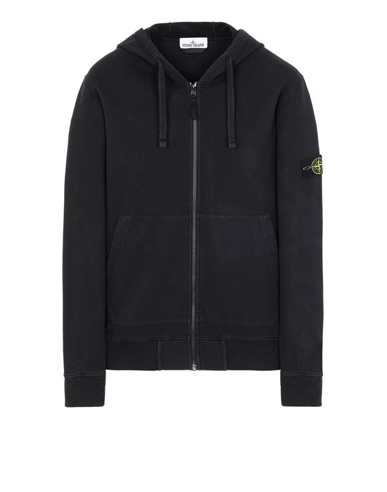 STONE ISLAND 64220 Sweatshirt Man Black
