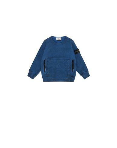 STONE ISLAND BABY 62241 DUST COLOUR Sweatshirt Man Periwinkle USD 169