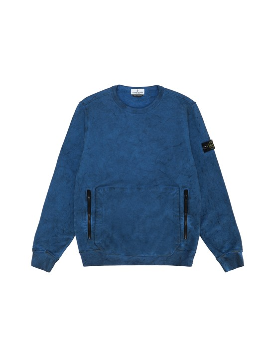 Sweatshirt Man 62241 DUST COLOUR Front STONE ISLAND TEEN