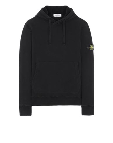 STONE ISLAND 64120 Sweatshirt Man Black EUR 239