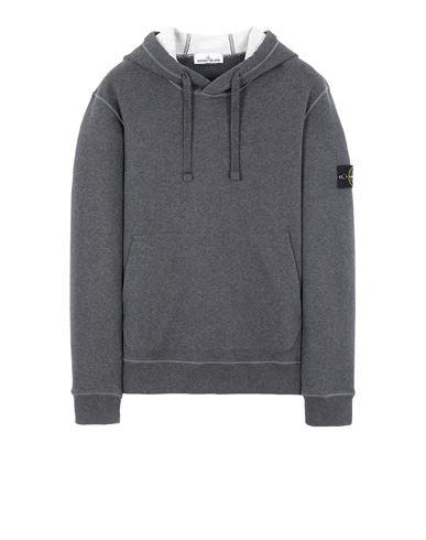 STONE ISLAND 64120 Sweatshirt Man DARK GREY MELANGE EUR 239