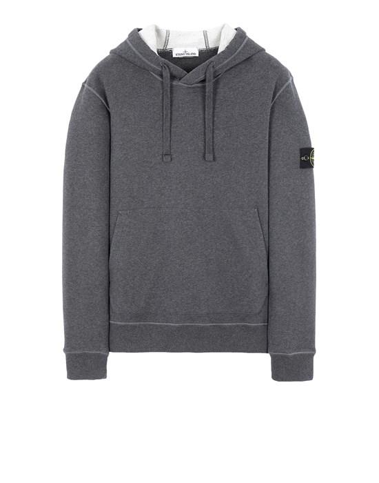 STONE ISLAND 64120 Sweatshirt Man DARK GREY MELANGE