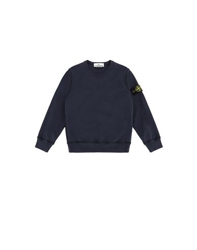 STONE ISLAND KIDS 61340 Sweatshirt Man Marine Blue USD 175