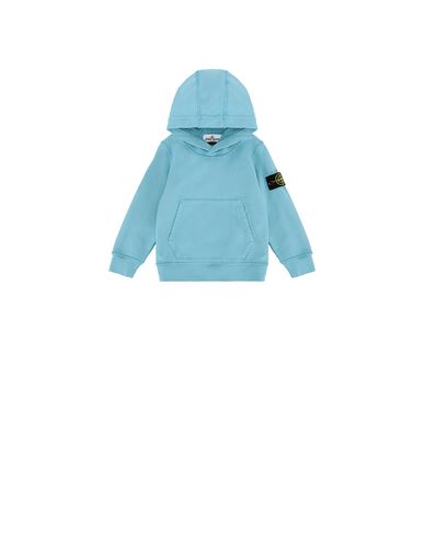 STONE ISLAND BABY 61640 Sweatshirt Man Turquoise USD 167