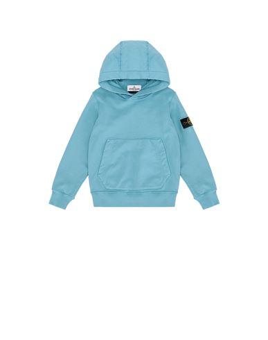 STONE ISLAND KIDS 61640 Sweatshirt Man Turquoise EUR 116
