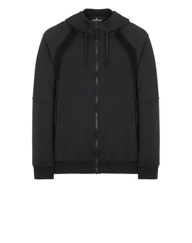 STONE ISLAND SHADOW PROJECT 60207 VENTED HOODIE JACKET Sweatshirt Man Black EUR 509