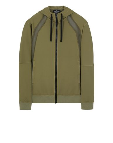 STONE ISLAND SHADOW PROJECT 60207 VENTED HOODIE Sweatshirt Man Olive Green USD 500