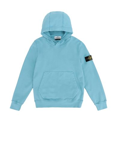 STONE ISLAND TEEN 61640 Sweatshirt Man Turquoise EUR 154