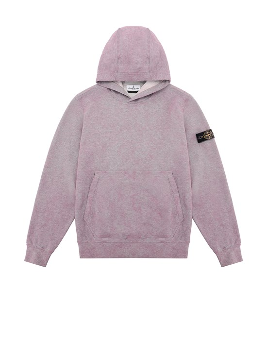 Sweatshirt Man 61044 DUST COLOUR TREATMENT Front STONE ISLAND TEEN
