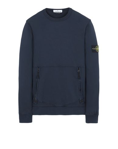 STONE ISLAND 63451 Sweatshirt Man Blue USD 357