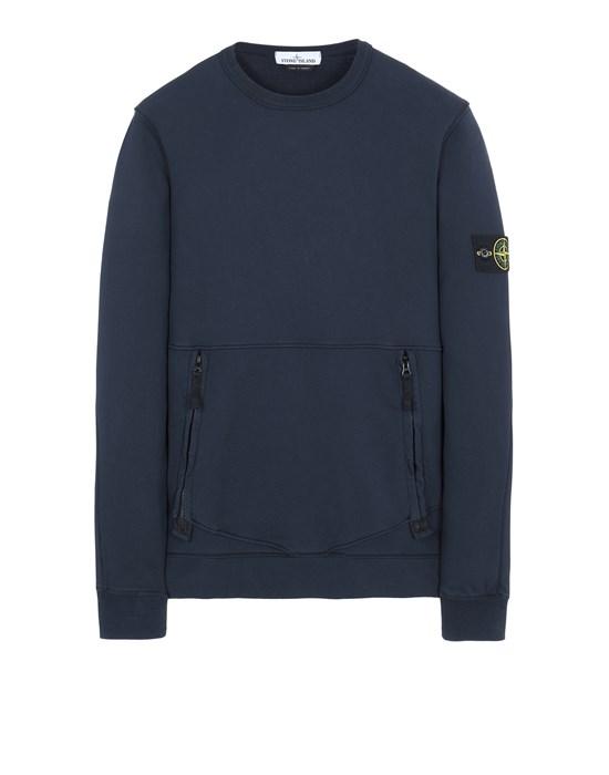 STONE ISLAND 63451 Sweatshirt Herr Blau