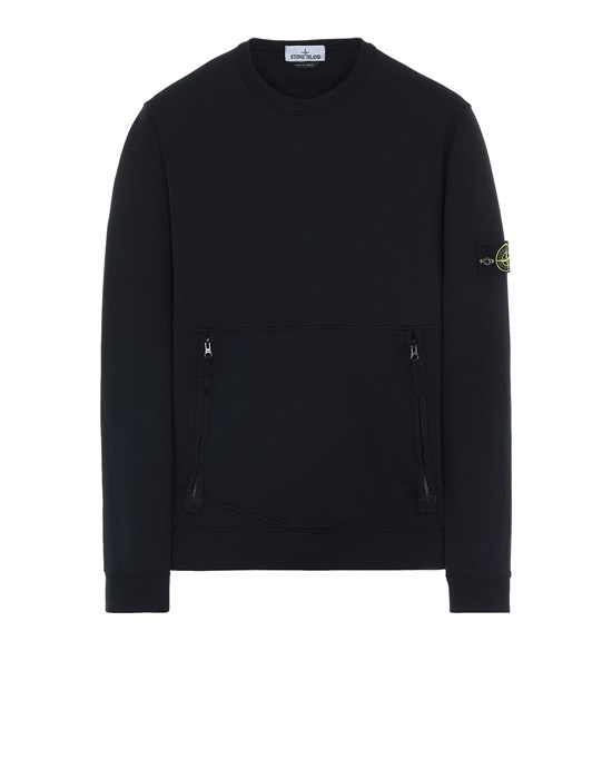STONE ISLAND 63451 Sweatshirt Man Black