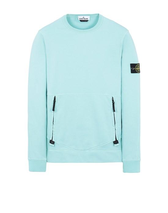 STONE ISLAND 63451 Sweatshirt Man Aqua