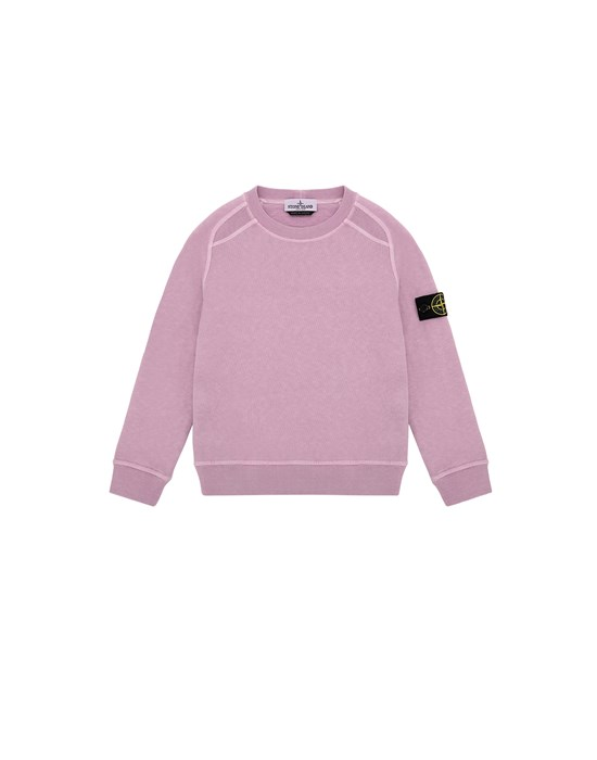 STONE ISLAND KIDS 60641 T.CO + OLD Sweatshirt Man Pink Quartz