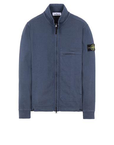 STONE ISLAND 61050 Sweatshirt Man Avio Blue EUR 319