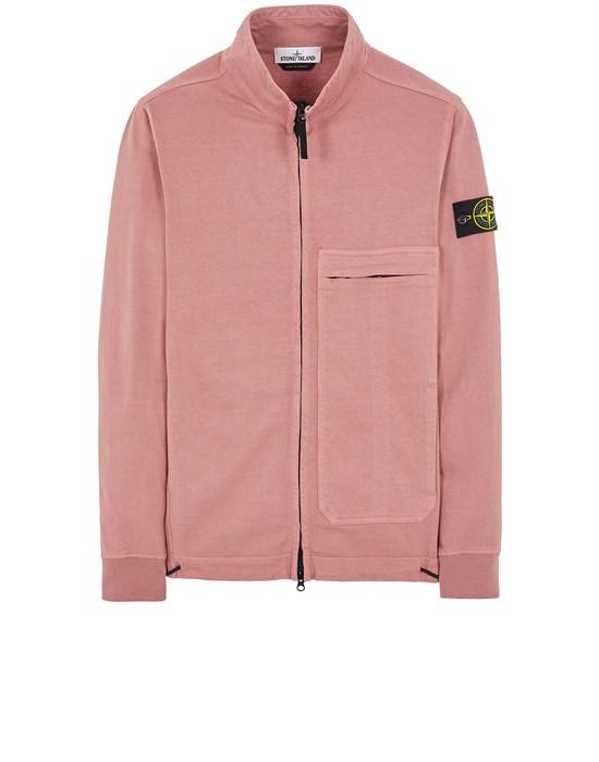 STONE ISLAND 61050 Sweatshirt Man Pink Quartz