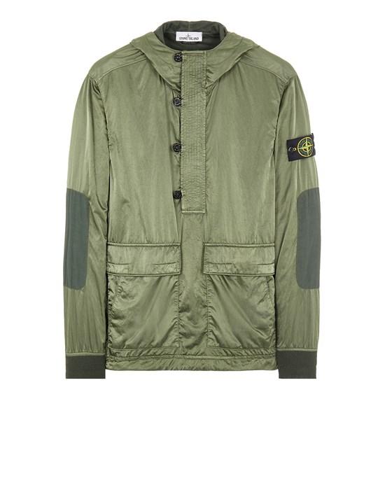 STONE ISLAND 60921 NYLON RASO-TC Sweatshirt Man Sage Green