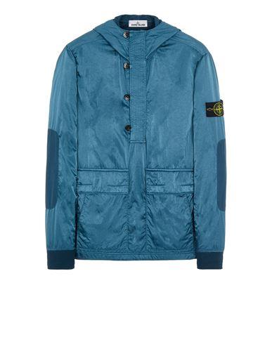 STONE ISLAND 60921 NYLON RASO-TC Sweatshirt Man Teal EUR 559