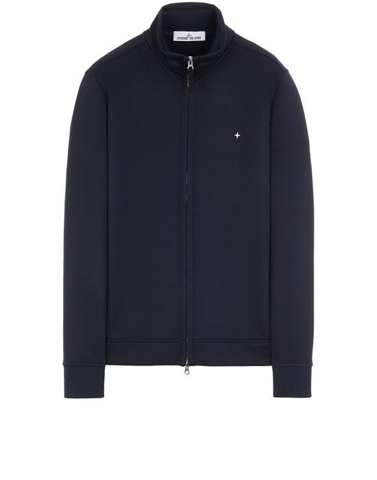 Sweatshirt Man 61735 ORGANIC COTTON/ SEAQUAL® POLYESTER YARN Front STONE ISLAND