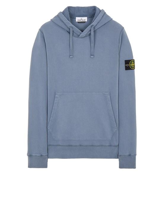 Sweatshirt Man 64120 BRUSHED COTTON FLEECE Front STONE ISLAND