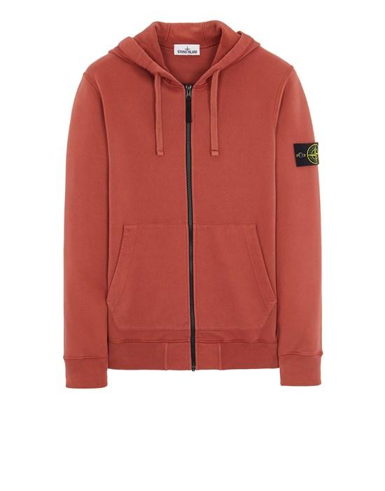 Sweatshirt Man 64220 BRUSHED COTTON FLEECE Front STONE ISLAND