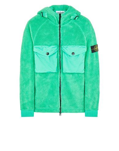 STONE ISLAND 60134 COTTON PILE Sweatshirt Man Green EUR 575