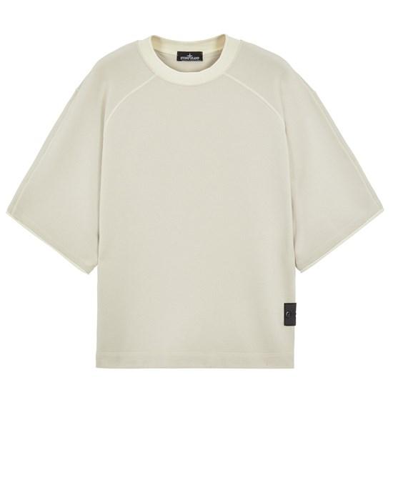 Sweatshirt Man 60210 WOOL COTTON FELPA, GARMENT DYED_CHAPTER 1 Front STONE ISLAND SHADOW PROJECT