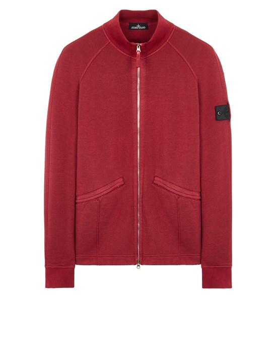 Sweatshirt Man 60310 WOOL COTTON FELPA, GARMENT DYED_CHAPTER 1 Front STONE ISLAND SHADOW PROJECT