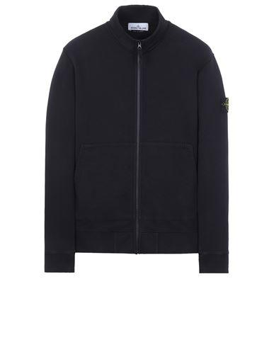 STONE ISLAND 66120 BRUSHED COTTON FLEECE Sweatshirt Man Black. EUR 255