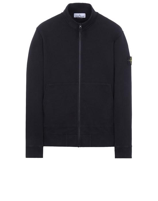 Sweatshirt Man 66120 BRUSHED COTTON FLEECE Front STONE ISLAND
