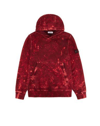 STONE ISLAND TEEN 61941 OFF DYE OVD TREATMENT Sweatshirt Man Bronze EUR 235