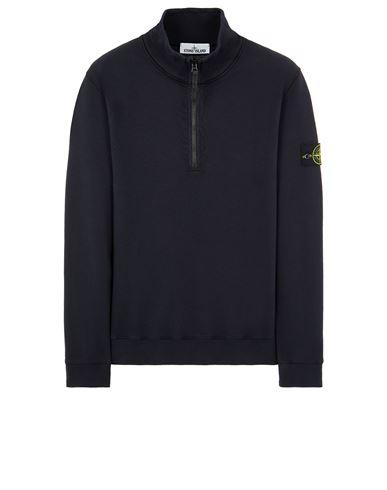 STONE ISLAND 61920 BRUSHED COTTON FLEECE Sweatshirt Man Blue EUR 229