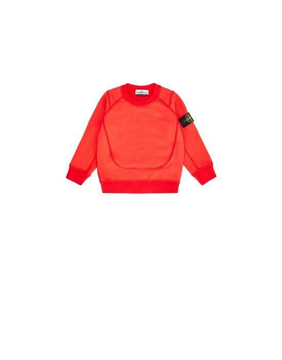 STONE ISLAND JUNIOR 60646 Sweatshirt Man Rust
