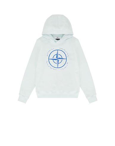 STONE ISLAND JUNIOR Sweatshirt Man 61740 'MORSE CODE TWO' f