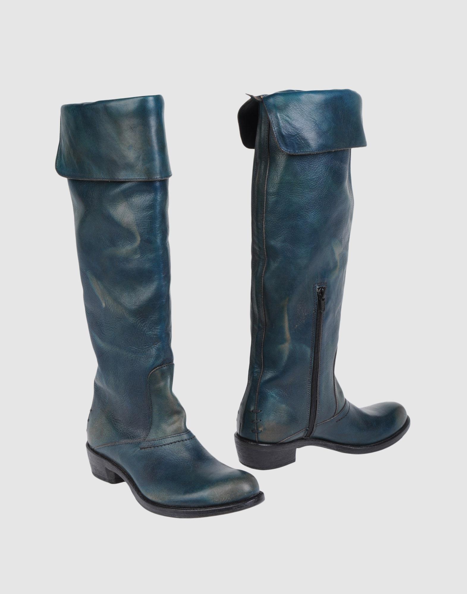 MOMA Сапоги на каблуке цены онлайн