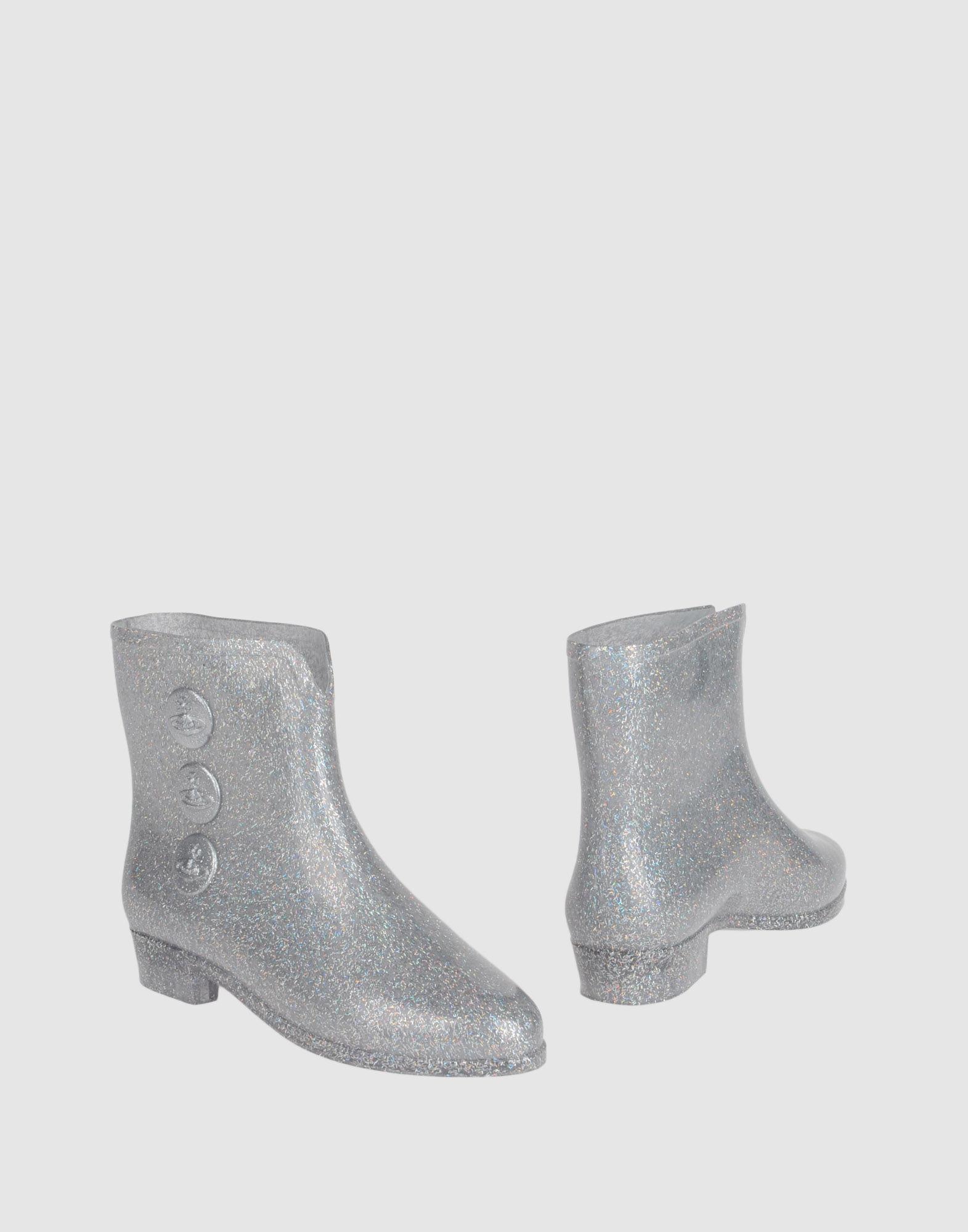 VIVIENNE WESTWOOD ANGLOMANIA + MELISSA Полусапоги и высокие ботинки