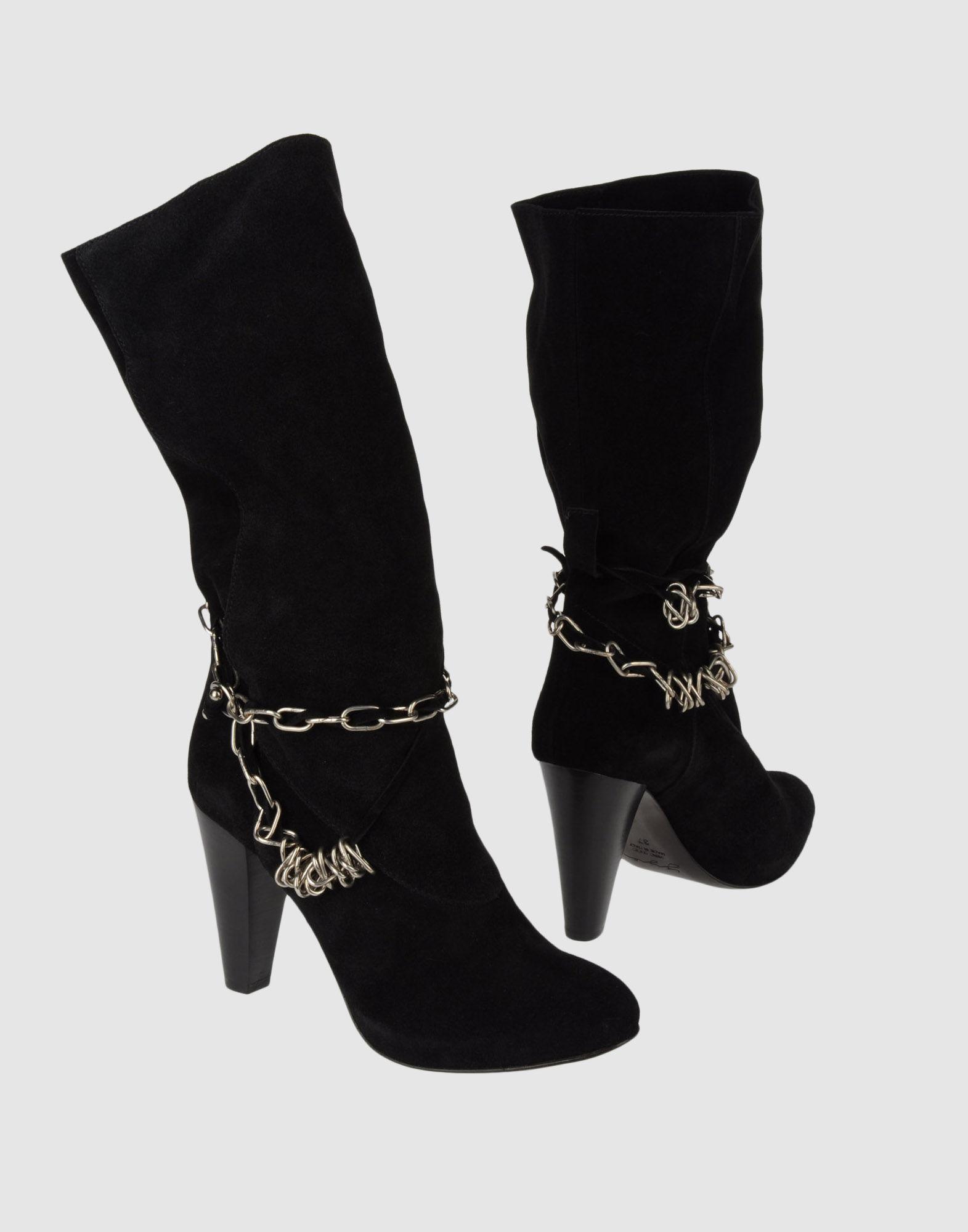 YIJIE Сапоги на каблуке цены онлайн