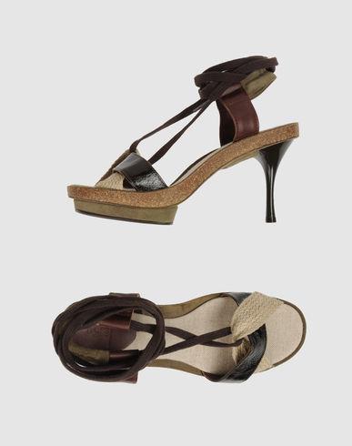 INTROPIA Sandales avec plateau femme