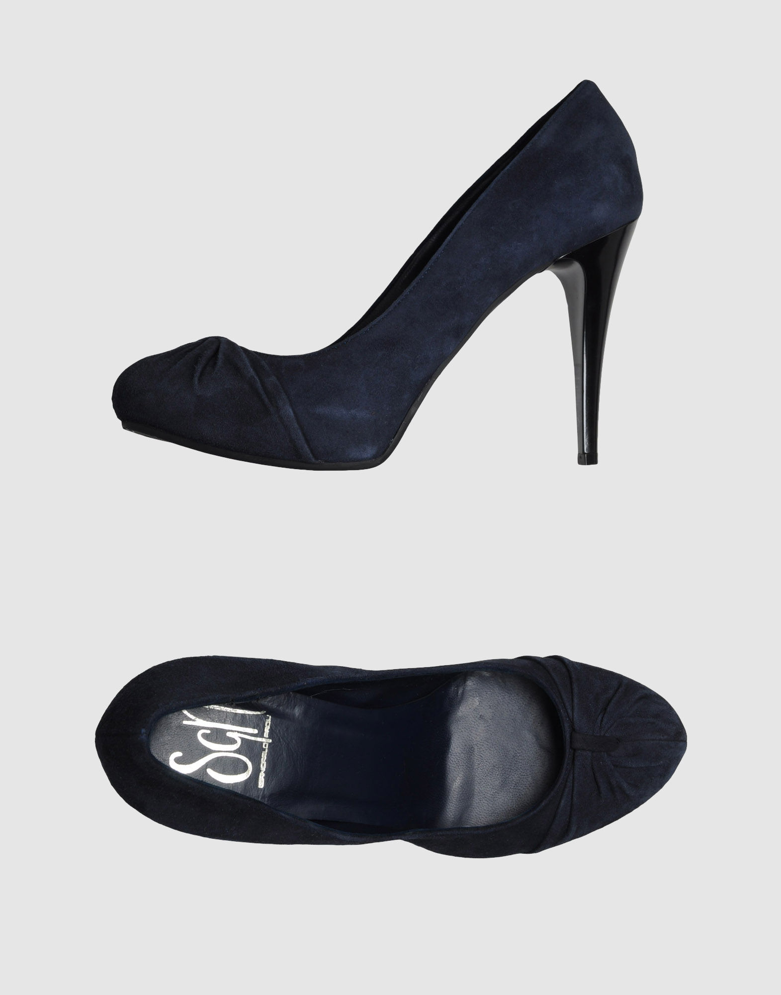цена SGN GIANCARLO PAOLI Туфли на платформе онлайн в 2017 году